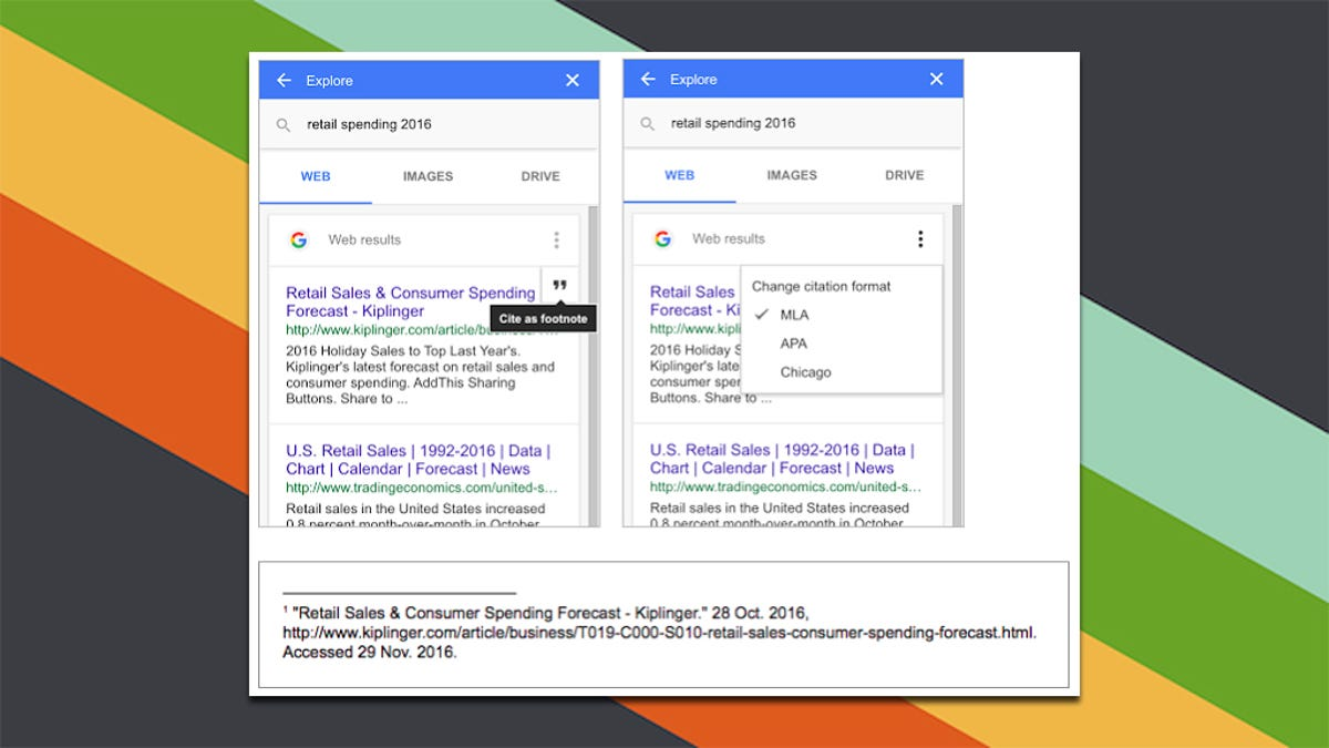 Google Docs Makes It Easier to Add MLA, APA, and Chicago