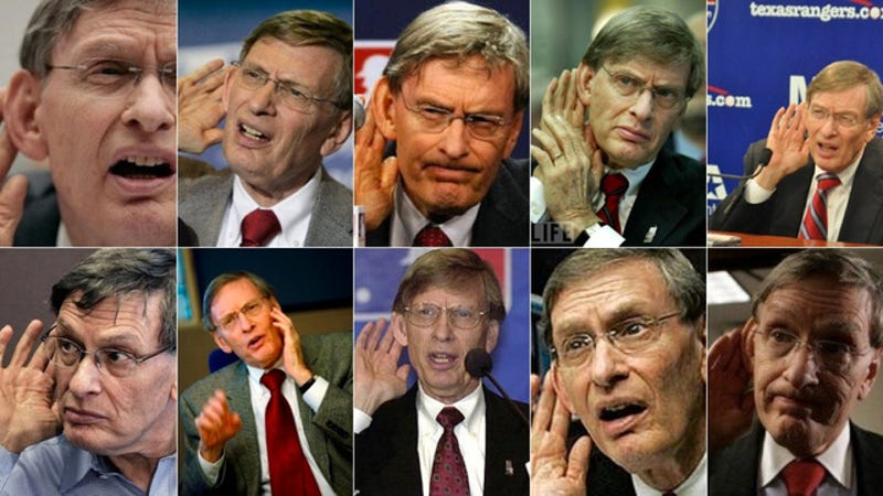 Illustration for article titled Bud Selig Has Never Sent An Email In His Life