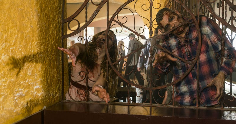 This hotel is not a happy place on Fear the Walking Dead. Image: Richard Foreman Jr/AMC