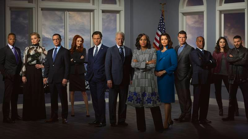 The cast of Scandal (Photo: ABC/Bob D'Amico)