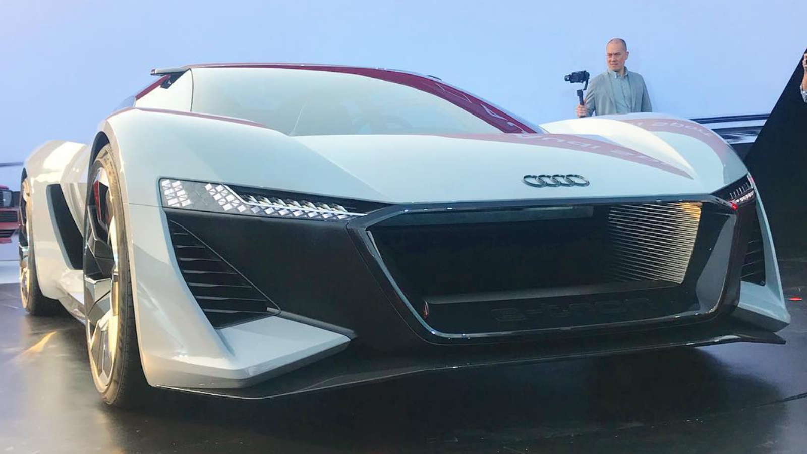 The Audi Pb18 E Tron Concept Is A 671 Hp Electric Hatchback With A