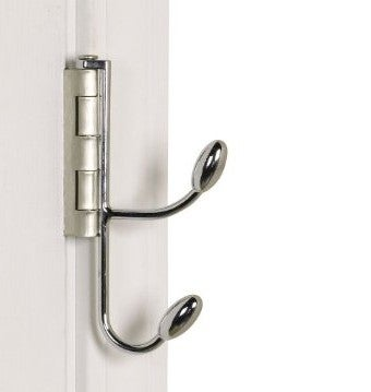 Illustration for article titled Hinge Hooks Sneak Semi-Permanent Storage Behind Your Doors