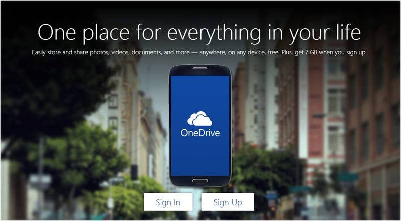 Illustration for article titled Adiós a SkyDrive: Microsoft estrena OneDrive regalando almacenamiento
