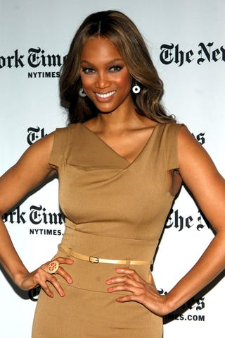 Illustration for article titled Tyra Does, Indeed, Smile With Her Eyes