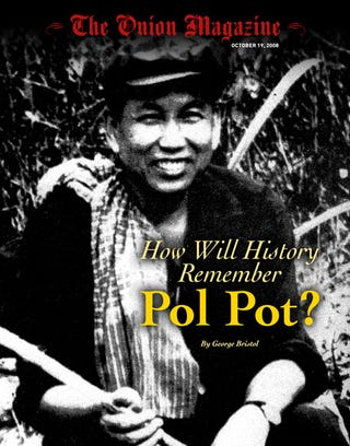 Illustration for article titled How Will History Remember Pol Pot?