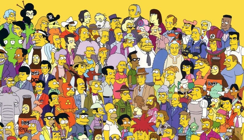 Los Simpsons - Magazine cover