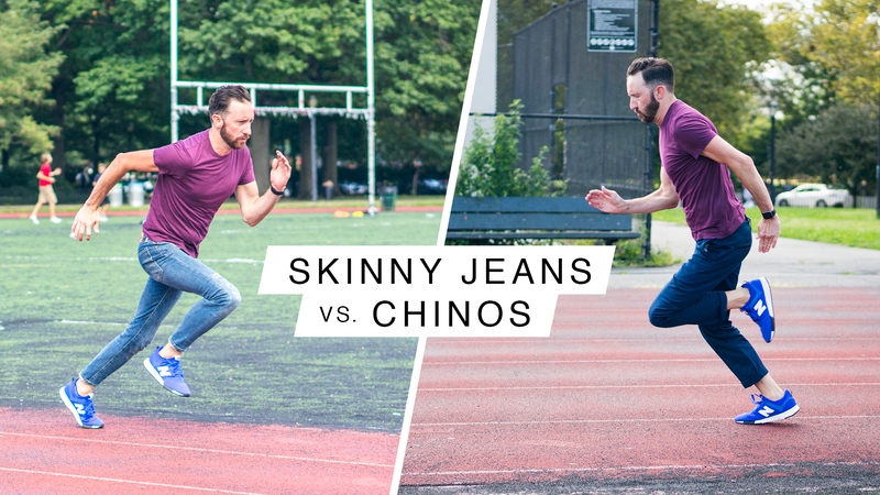 Illustration for article titled Skinny Jeans vs. Chinos: The Ultimate Sports Combine Face-Off