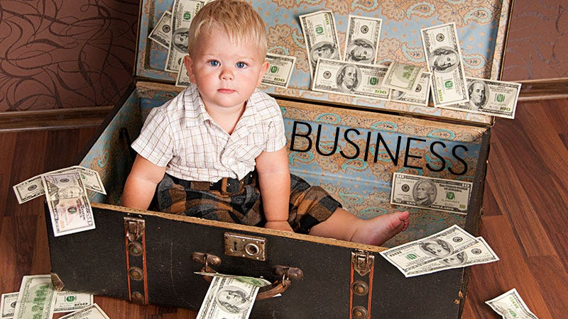 Illustration for article titled This Week In The Business: Kids And Their Cash