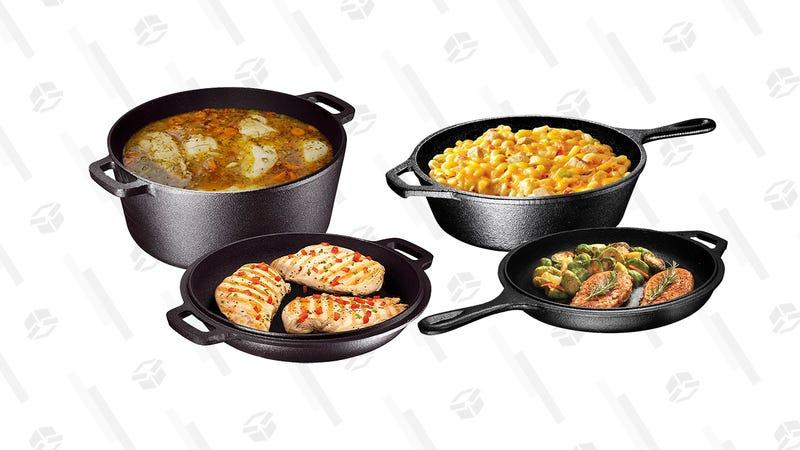 Cast Iron Cookware Gold Box | Amazon