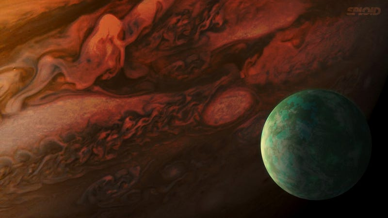 Localizan la que podría ser la primera luna fuera del Sistema Solar