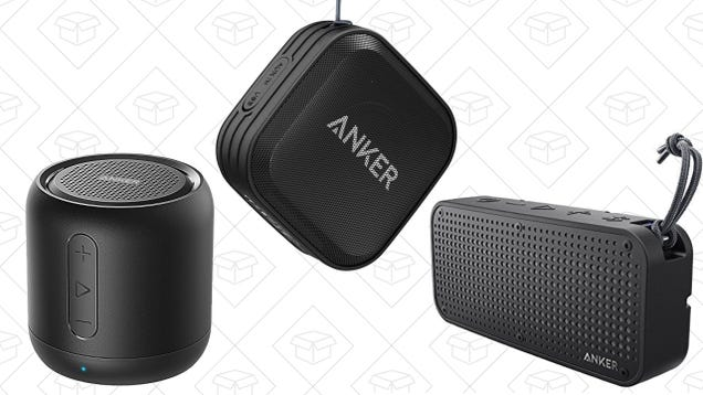 0ee11465ae1 Anker makes some of our readers  favorite Bluetooth speakers, and three  different models are on sale in today s Amazon Gold Box.