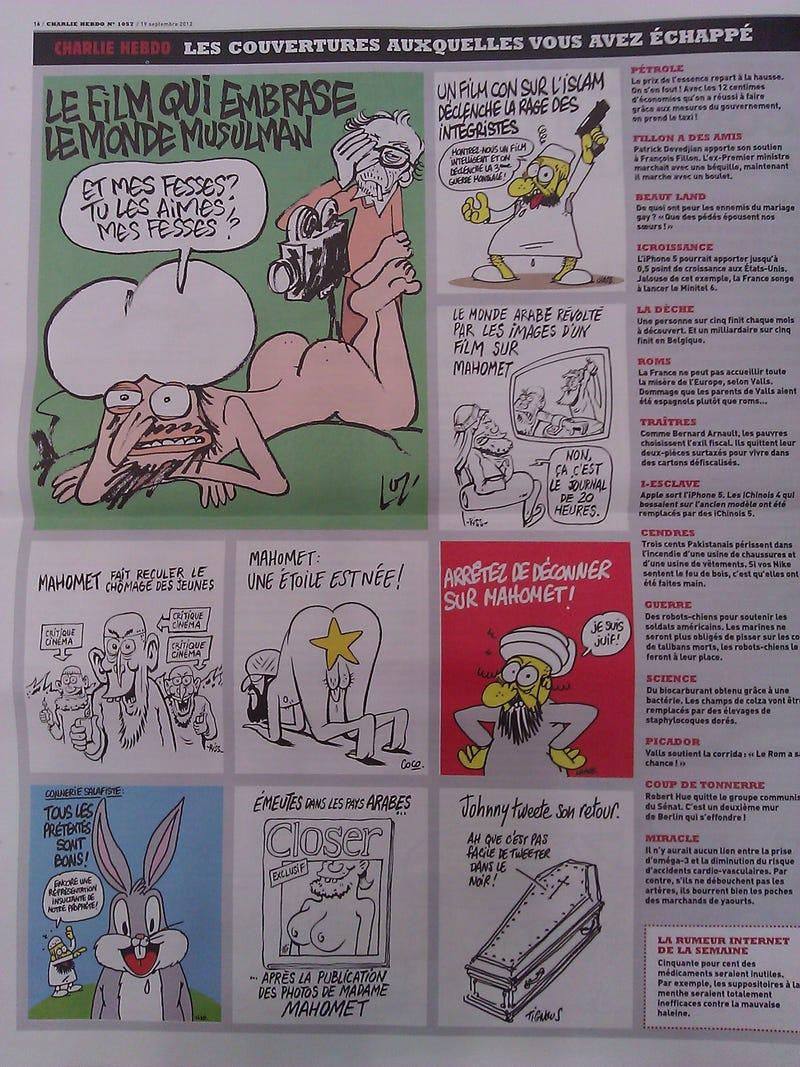 Charlie Hebdo Karikaturen