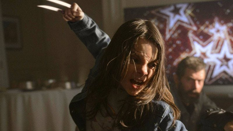 Dafne Keen as X-23 in Logan (2017)