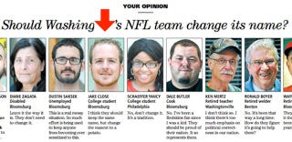 Illustration for article titled Fugitive Arrested After Making Dumb Redskins Joke In Newspaper