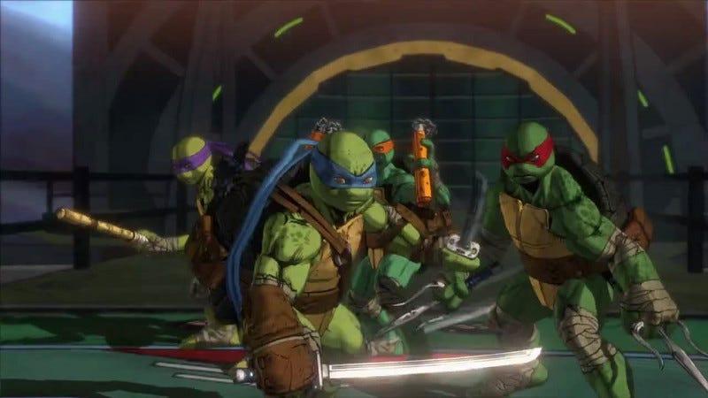 Illustration for article titled Teenage Mutant Ninja Turtles: Mutants In Manhattan Leaks Officially