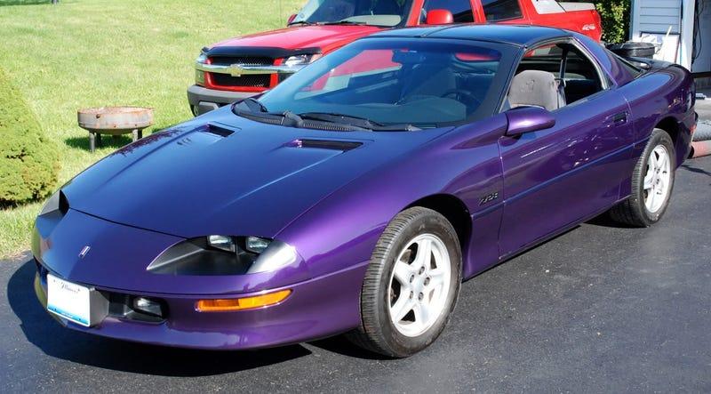 The Rare Purple Camaro