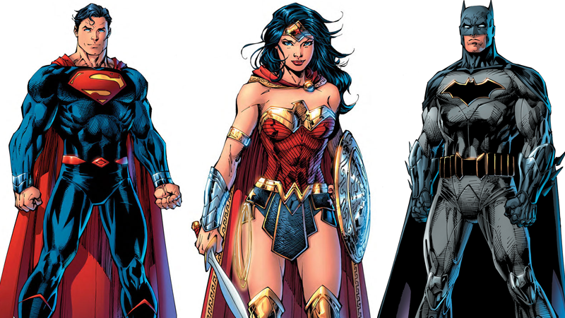 Illustration for article titled DC Reveals Its New Rebirth Superhero Costumes