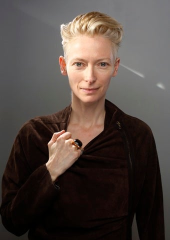 """Illustration for article titled Tilda Swinton: """"A Dame? I'd So Much Rather Be A Knight"""""""
