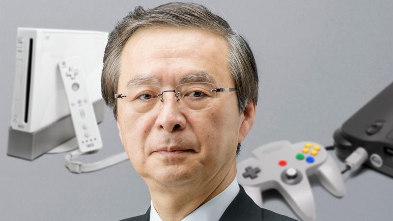Genyo Takeda. Original photo courtesy Nintendo, illustration by Kotaku.