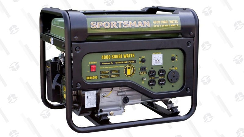 Sportsman 4,000 Surge/3,500 Running Watt Generator   $239   Walmart