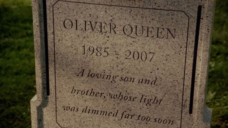 Illustration for article titled Oliver Queen is dead. Long live Oliver Queen.