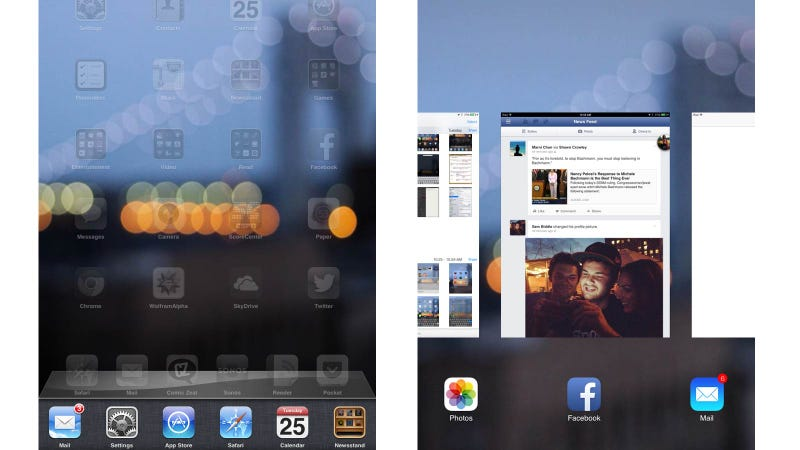 Illustration for article titled Primeras impresiones con iOS 7 en el iPad: la evolución que esperabas