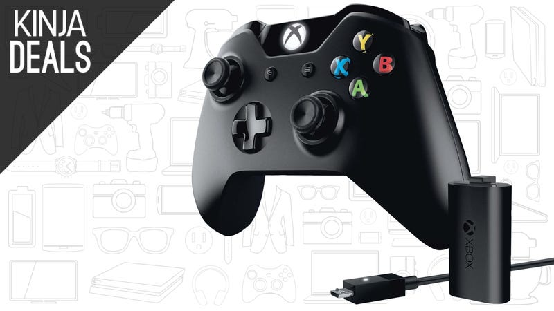 Illustration for article titled Grab an Extra Xbox One Controller For $50, Complete with a Play & Charge Kit