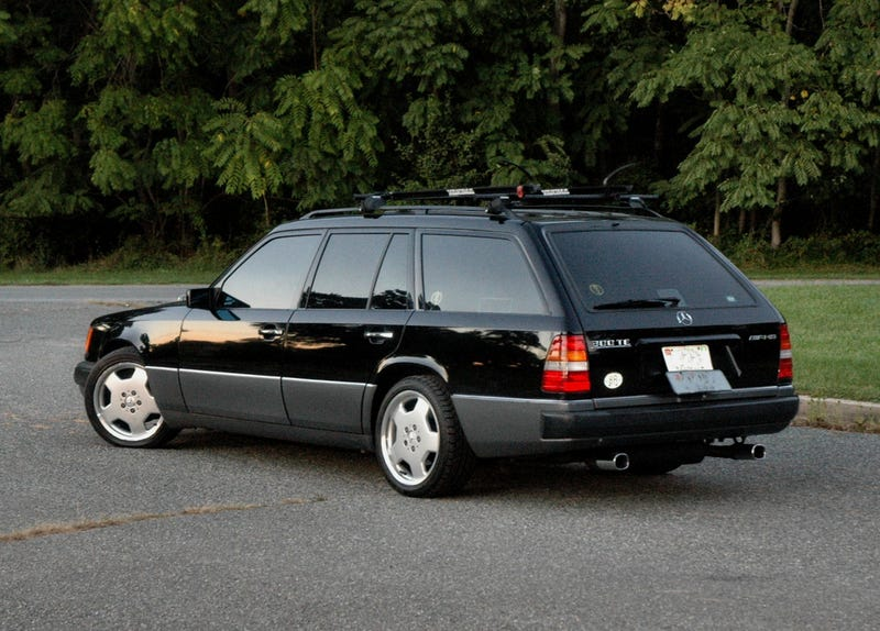 Illustration for article titled Apparently that W124 wagon didn't sell.