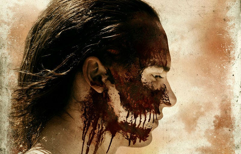 The blood is flowing on this season of Fear the Walking Dead. Image: AMC