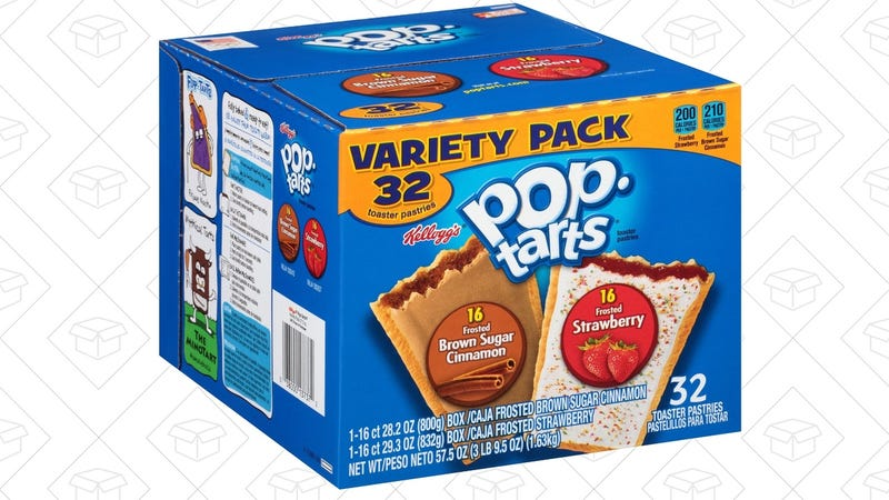 Pop-Tart 32 Pack, $5 after 25% coupon.
