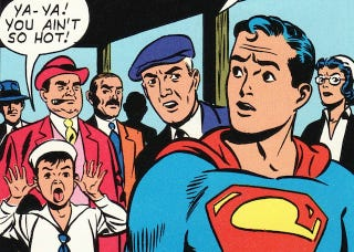 Illustration for article titled Man of Suck: Is Superman a Terrible Superhero?