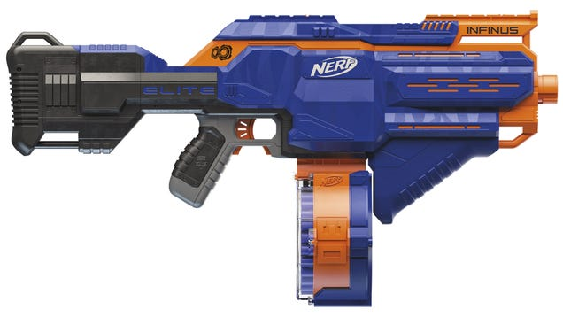 A Clever Trick Lets Nerf s Newest Blaster Shoot a Seemingly Endless Stream of Darts