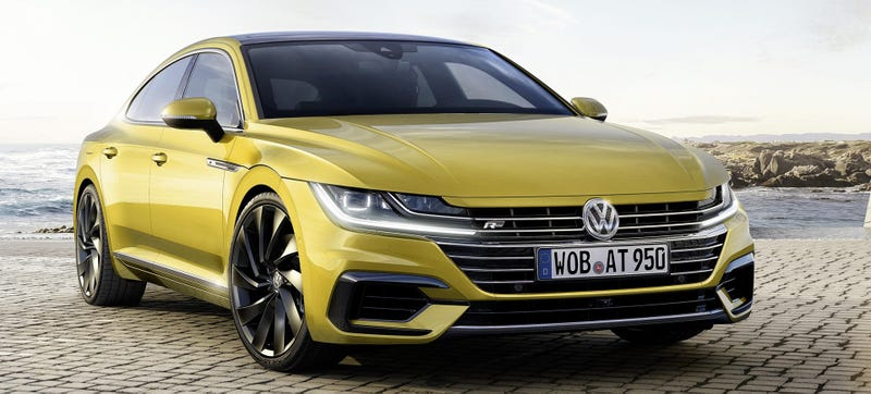 Illustration for article titled Volkswagen Finally Got Around To Ripping Off The Audi A7
