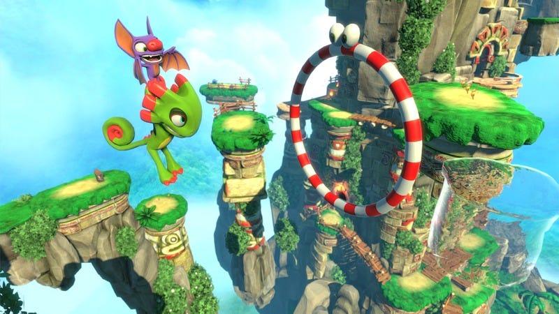 Screenshot: Yooka-Laylee/Playtonic Games