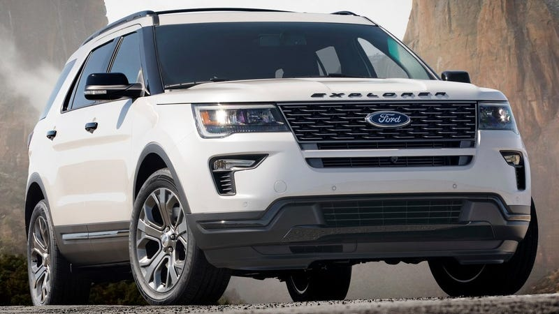 Illustration for article titled Ford Explorer ST Confirmed As We Stray Further From God's Light