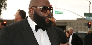 Rick Ross on the red carpet at the Grammy Awards (Christopher Polk/Getty Images Entertainment)