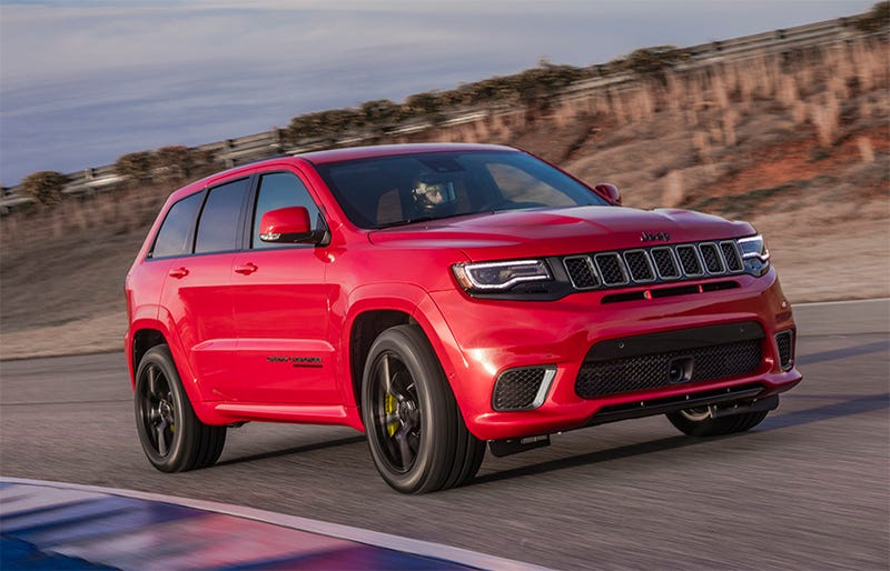 2018 jeep hellcat srt. beautiful hellcat well the 2018 jeep grand cherokee trackhawk didnu0027t turn out to be cheap at  all did it with pricing on 707 horsepower hellcatjeep  in jeep hellcat srt