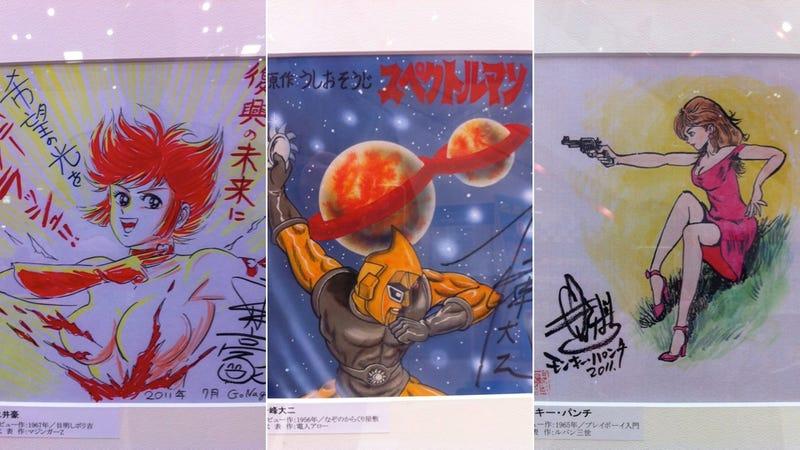 Illustration for article titled Japan's Greatest Manga Artists Offer Encouragement