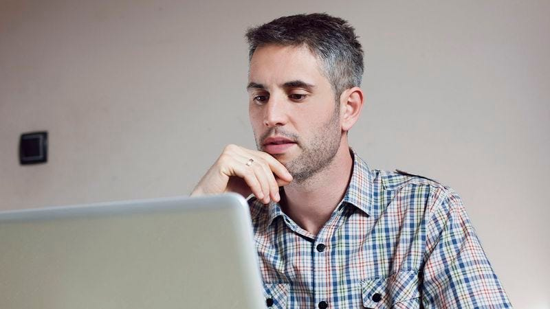 Illustration for article titled Man Wistfully Looks Around Website He Hasn't Visited For 30 Minutes