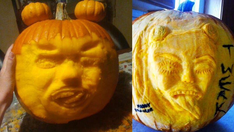 Illustration for article titled Miley Cyrus Jack-O-Lanterns Are a Thing This Year