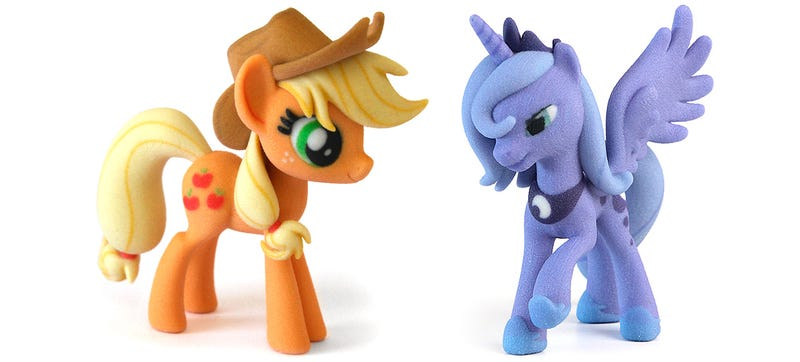 Illustration for article titled Hasbro Won't Mind If You Design (And Sell) Your Own 3D-Printed Toys