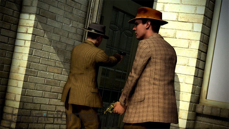 Illustration for article titled First L.A. Noire Screens Are Real... Are They Spectacular?