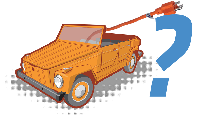 Illustration for article titled Volkswagen Hints At The Possibility Of A Reborn Electric Thing Or Other Classic Volkswagens