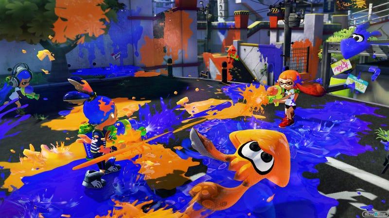 Nintendo impondrá serias limitaciones al modo multijugador de Splatoon
