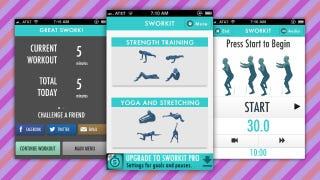 Illustration for article titled Sworkit Adds Daily Totals, Calories Burned, and Gets a Brand New Design