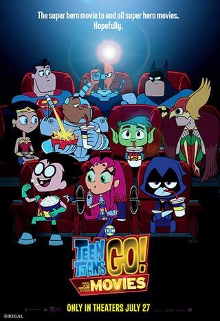 """Illustration for article titled """"Slaaaaaaaaaaaade!"""": Thoughts on Teen Titans GO! To the Movies"""