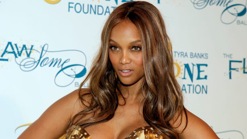 Illustration for article titled Tyra Banks Launches Cosmetics Line, Still Insists She Went to Harvard