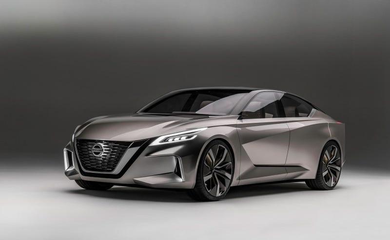 Illustration for article titled Nissan Vmotion 2.0 'concept'