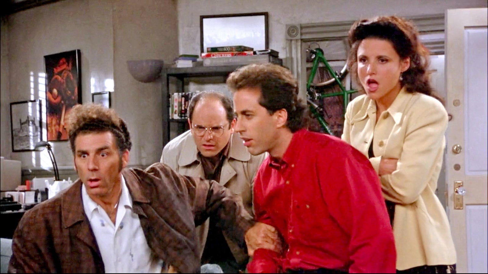 Seinfeld por fin llegará a Netflix en todo el mundo