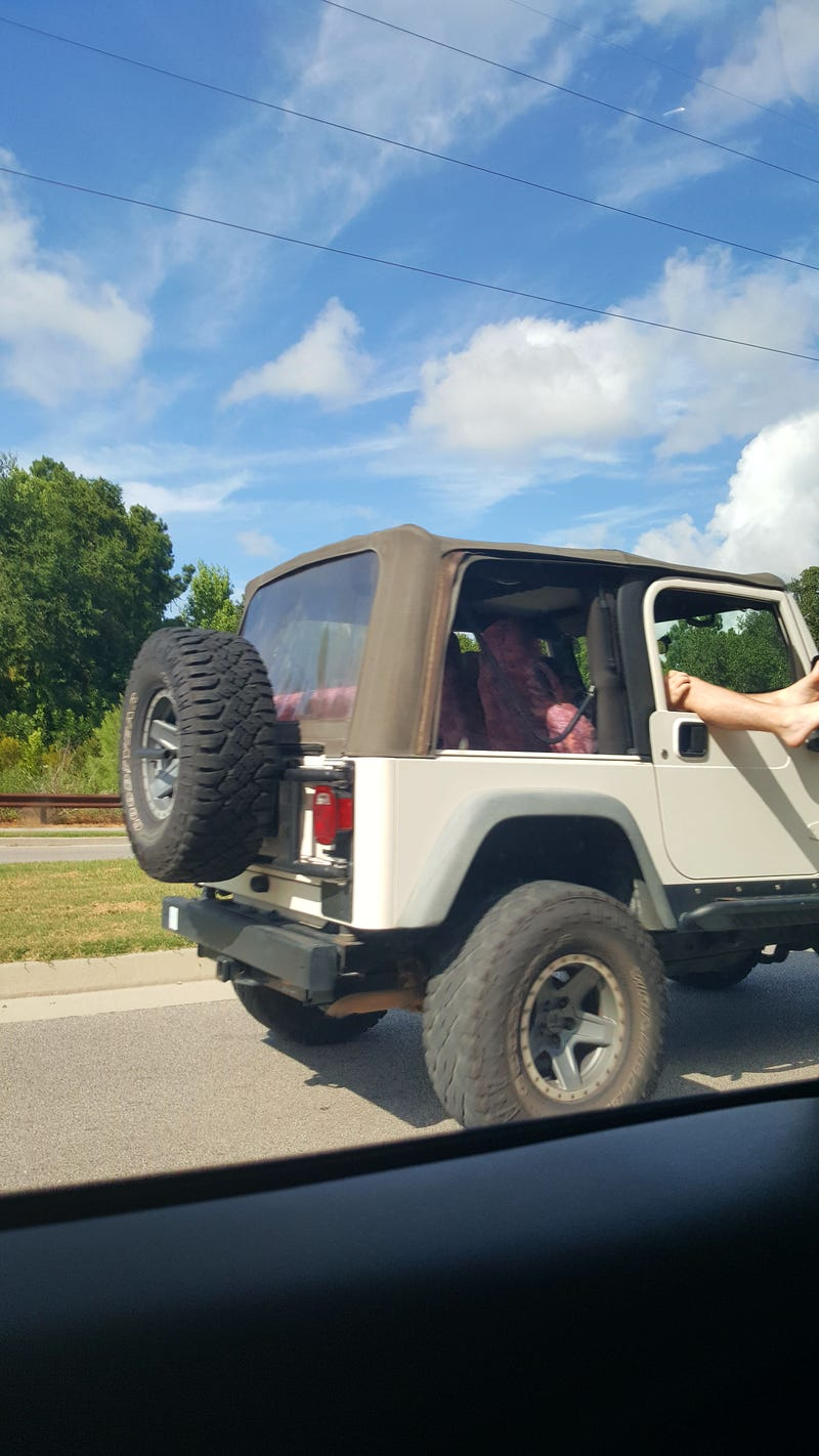 Illustration for article titled So is this a South Carolina thing or a Jeep thing?